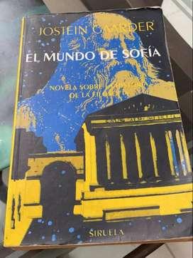 Libro El Mundo de Sofia en perfecto estado