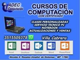 Certificado Curso de Computación