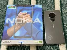 Nokia 6.2 prácticamente nuevo caja y accesorios