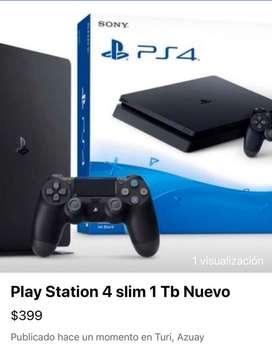 Play station 4 Slim 1Tb Nuevo