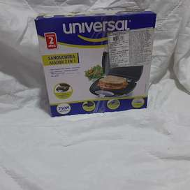 Sandwichera asador 2 en 1 UNIVERSAL