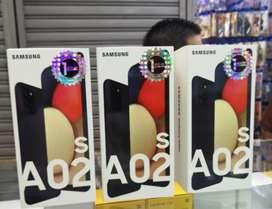 SAMSUNG A02 S DE 64 GB 4 RAM NUEVOS DE PAQUETE SELLADOS GARANTIZADO DE LOCAL ACEPTAMOS TARJETAS DE CRÉDITO