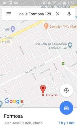 VENDO TERRENO en CASTELLI CHACO