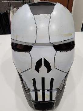 Casco Iron man war Machine punisher