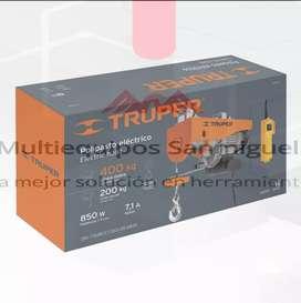 Polipasto eléctrico 400 kilos Wincher Truper