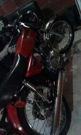 Kawasaki deluxe 100