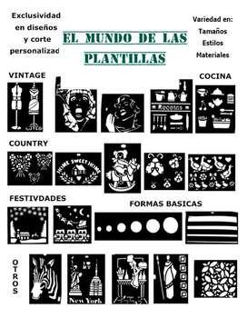 Plantillas Stencils Para Arte Y Manualidades
