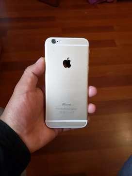 Iphone 6 de 16 Gb 9.5/10 con audífonos y cargador