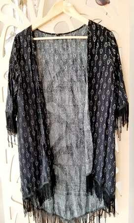 Kimono de fibrana impecable