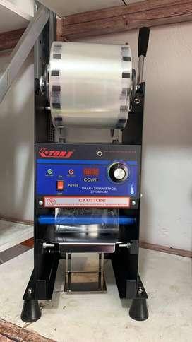 Selladora de vasos semi automatica
