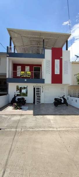 Se vende casa barrio el retiro tulua cuenta con 3 pisos construidos