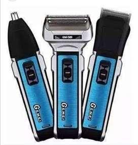 Maquina de afeitar 3 en 1