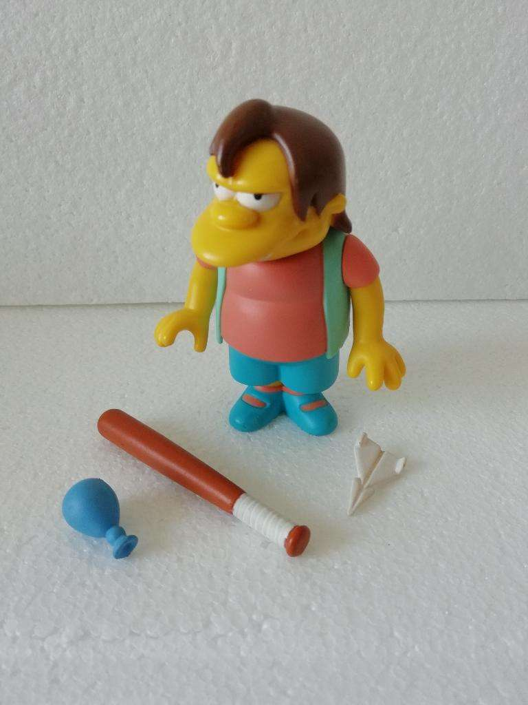 Simpsons Playmates Nelson 0