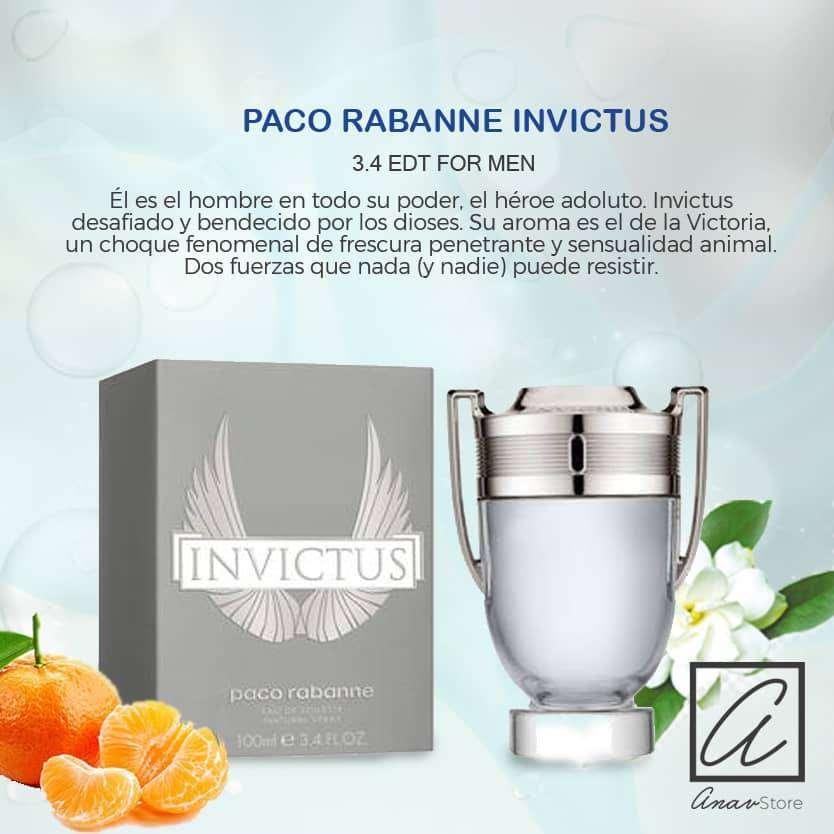 PERFUME INVICTUS PACO RABANNE 100 ml. hombres 0