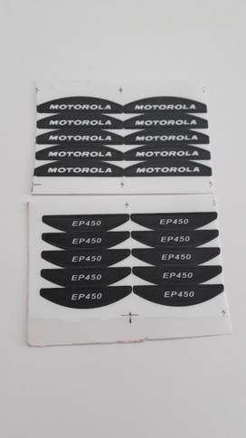 Sticker Nombre Motorola Y Ep450
