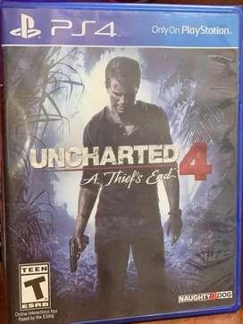 Uncharted 4 Usado