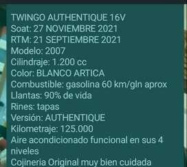 Se vende carro twingo