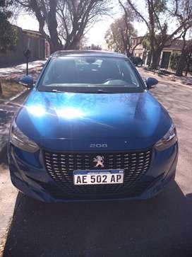 Vendo Peugeot 208 impecable mod 2020