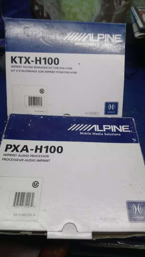 Alpine Procesador de Audio Nuevo 0