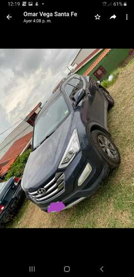 Hyundai Santa Fé 4x4 manual gasolina 2013