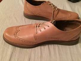 Zapatos Cuero Tanino Talla 43
