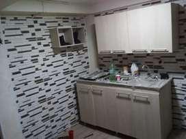 Apart estudio en bosques de la acuarela  para estrenar alcoba sala baño barra ame cocina integral servicios incluidos