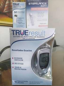 Glucómetro kit de respuesto