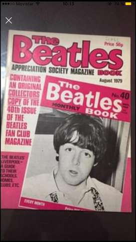 The Beatles book monthly numero 40 agosto 79 art en capital federal