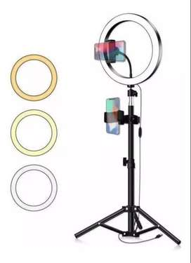Aro de luz 26 cm y accesorios