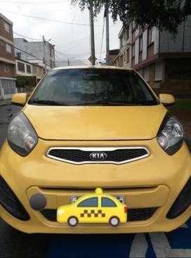 Taxi, Kia Picanto modelo 2014