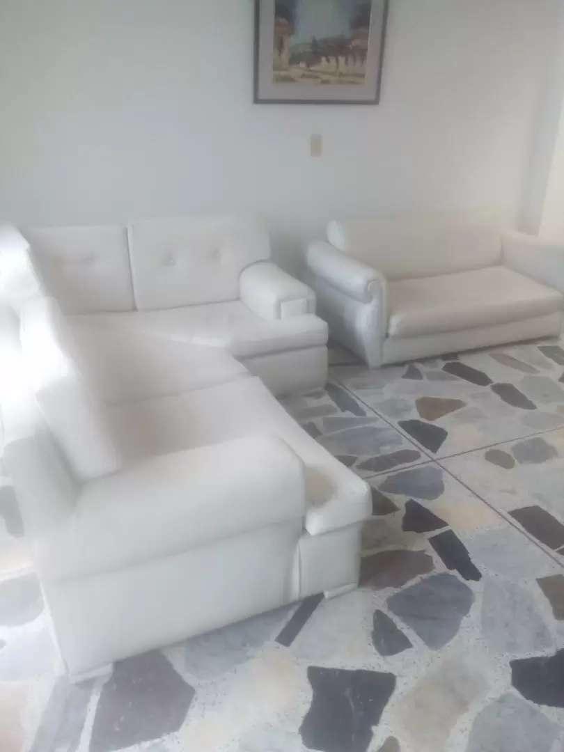 Sofa en L y sofa cama Negociables 0