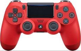 Control Para Ps4 Rojo Nuevo Inalambrico Sellado Dualshock 4