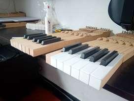 Afinación de pianos verticales y de cola