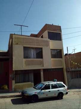 Vendo casa en Bello Horizonte de tres pisos en ILO - MOQUEGUA