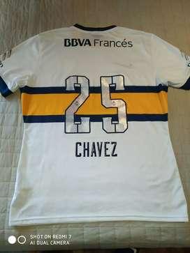 Camiseta de boca Chavez