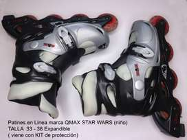 PATINES QMAX SPORT SEMIPROFESIONALESS