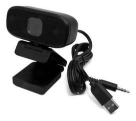 Camara Web Pc Videollamada Full Micrófono Incorporado Ref603 + obsequio