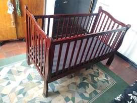 Corral cuna en Madera para Bebé