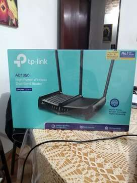 ROUTER TP LINK AC 1350 HIGH POWER