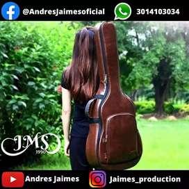 Forro de Guitarra en Cuero