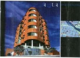 Terreno de 657m2 con proyecto aprobado para Edificio en venta en sector Coliseo Mayor, Centro de Cuenca