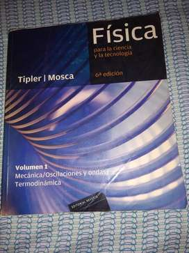 Vendo libro de física- Tipler mosca