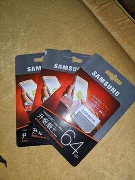 Memorias MicroSD 64GB SAMSUNG