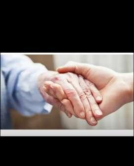 Me ofrezco para el cuidado de personas mayores