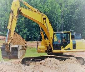 Servicio de demoliciones, excavaciones, compactación de terrenos, movimiento de tierras, eliminacion de desmonte