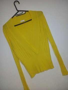 Saco de lana talla S usado