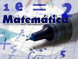 PROFESORA DE MATEMÁTICA. CLASES DE APOYO INDIVIDUALES