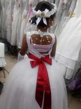 Vestido primera comunión completo
