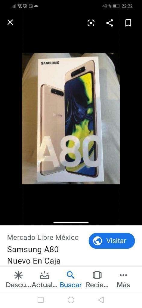 Samsung A80 128gb 8gb Nuevos Local Gtia 0