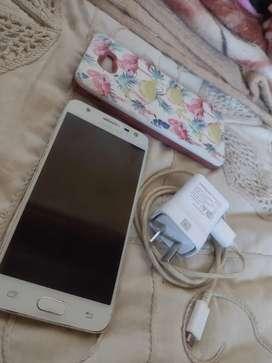 Samsung J5 Prime Libre impecable con garantía Funda y cargador